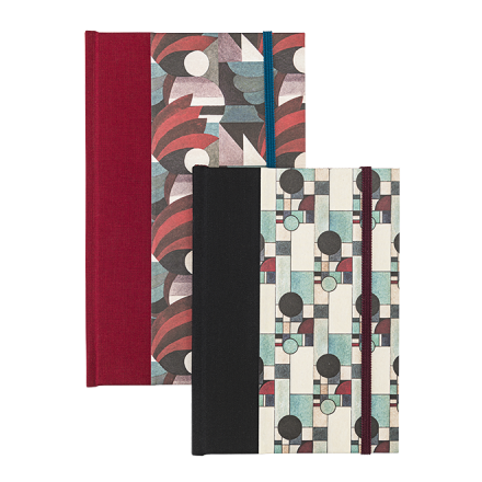 Journal Half-Fabric Bound - Bauhaus Limited Series