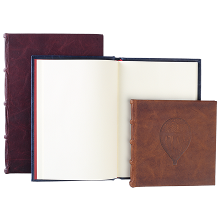 JOURNAL @- FULL LEATHER BOUND