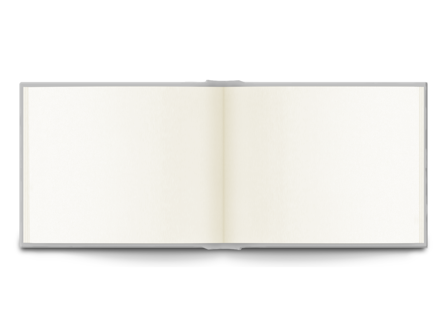 Blank Calendar With Notes : Sketchbook full leather bound with tie